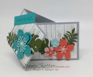 Botanical garden twist card
